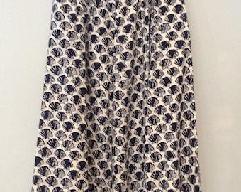 Batik Cotton Skirt