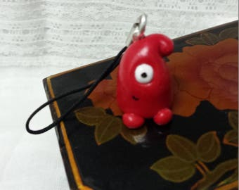 Red Cyclops Monster straps for phone