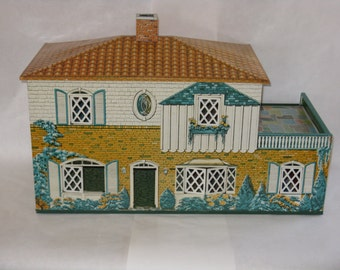 Sale Price! Vintage all metal aluminum doll house large