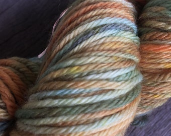 Hand Dyed Yarn- Citrus DK
