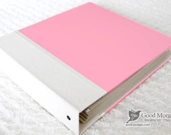 5 Year Baby Memory Book  - Pink