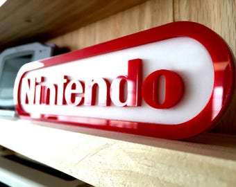 Nintendo Display Sign