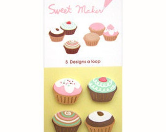 Sticky Notes / Removable Adhesive Paper - cupcake