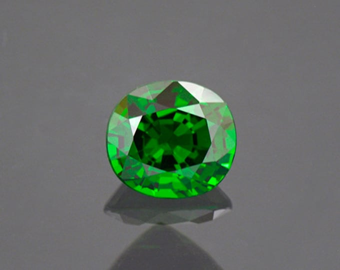 Enchanting Deep Green Tsavorite Gemstone from Kenya 1.57 cts