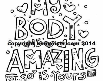 My Body is AMAZING digital download