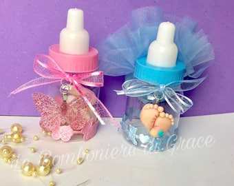 Birth/baptism Favor baby Bottles