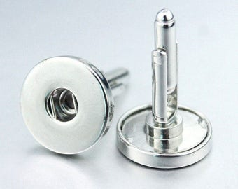 Snap Button - Cuff Links