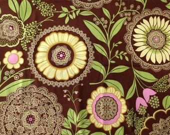 Amy Butler, Lacework, Lotus collection, fabric destash, floral fabric, quilting fabric, out of print fabric, Westminster fabrics, 2 yards
