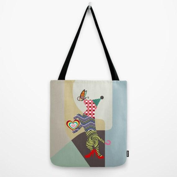 Dog Tote Bag, Dog Lover Gift, Dog  Design Tote Bag, Dog Gift, Dog Accessories, Dog Bag,  Funny Dog Gift,  iQ Studio