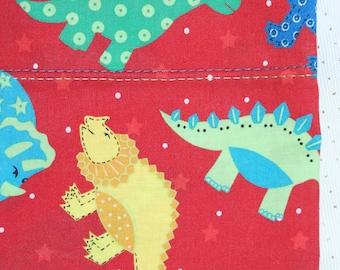 Pillow case dinsaur theme, standard pillow, pillow covers,handmade pillow cases,bed pillow case
