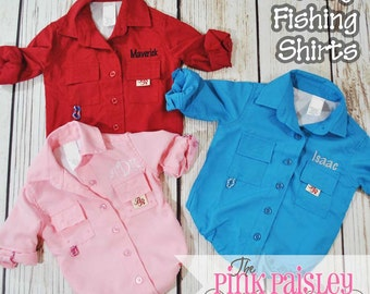 Monogrammed Baby Fishing Bodysuit Shirt | Baby Fishing Outfit | Toddler Fishing Shirt | Baby Shower Gift | Fishing Gear