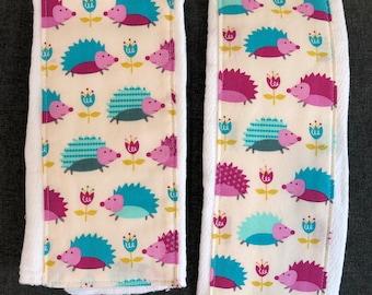 Hedgehogs - Burp cloth