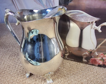 Vintage Silver Plated Pitcher
