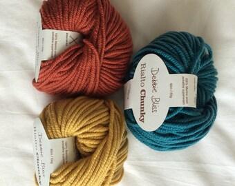 Debbie Bliss Rialto Chunky - 100% merino wool