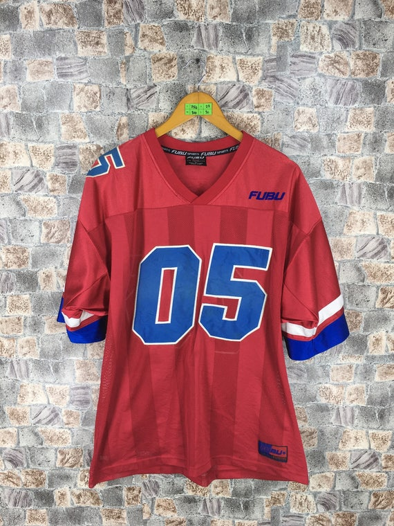 Vintage Fubu Jacket Colourblock Swag HipHop Streetwear E4Ko0XBto