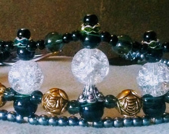 Glass Crystal tiaras