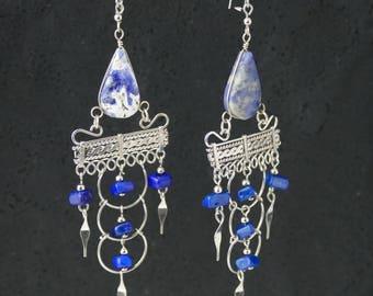 Gypsy Earrings Boho Earrings tribal earrings bohemian earrings ethnic earrings hippie earrings dangle earrings boho jewelry gift for her