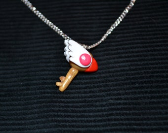 Cardcaptor Sakura Inspired Clow Key Necklace