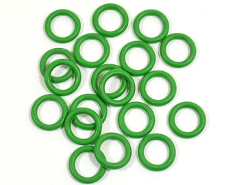 12mm Grass Green Rubber O-Rings