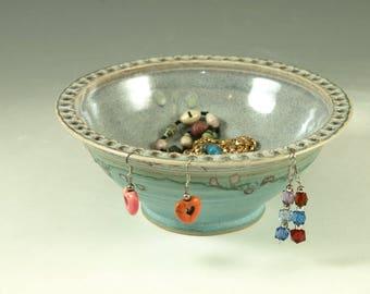 Handmade Earring bowl apx 50 holes