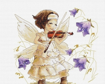 Sounds of a Forest SB1113 - Cross Stitch Kit by Luca-s