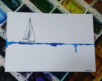 custom sail boat