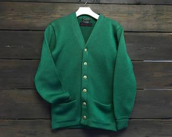 Vintage 60s Wool Cardigan