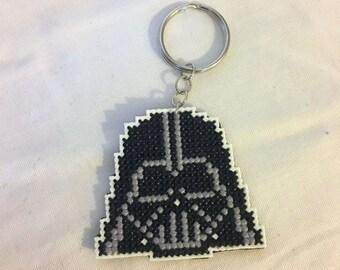 Star Wars, Darth Vader, Keychain, Cross Stitch