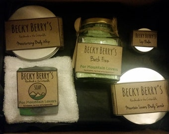 Palm oil free and vegan, gift box.