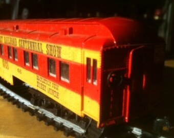 Pullman Business Car 1960's vintage HO scale Coast to Coast Railroad Centennial Official Car 1869 1969 Railroad Model Craftsman