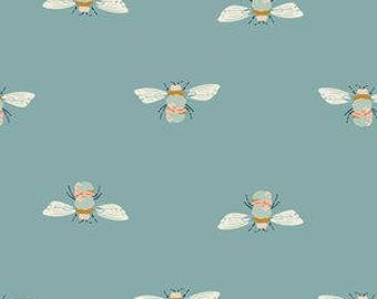 bumblebee crib sheet, blue bumblebee bedding, crib bedding, bee baby bedding, changing pad cover, bee crib sheet, bumblebee cot sheet
