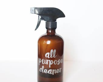 All Purpose Cleaner Labels