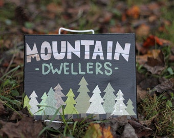 Mountain Dwellers Painting