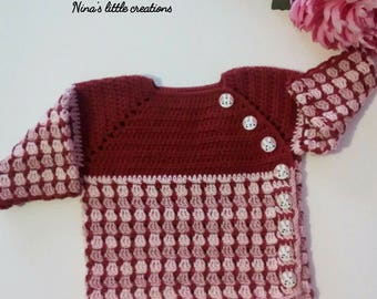 Sweater baby girl Crochet