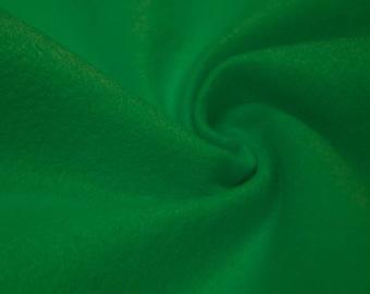 Charlotte GREEN  Acrylic Felt Fabric by the Yard - Style 3003
