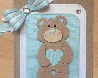 Teddy Bear Gift Tags, New Baby Gift tags, Baby Shower Gift tags, Baby Gift Tags, Childrens Gift Tags