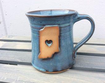 Indiana love mug