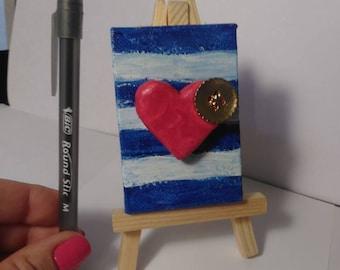 Mini 3D heart
