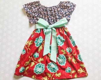 Girl's Dress - Girls Dresses - Girls Dress - Girls Fall Dresses - Girls Fall Dress - Baby Girl Dress - Baby Girl Dresses