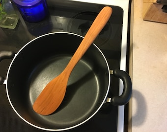 """Large 14"""" Cherry cooking spatula -perfect dutch oven tool!!"""