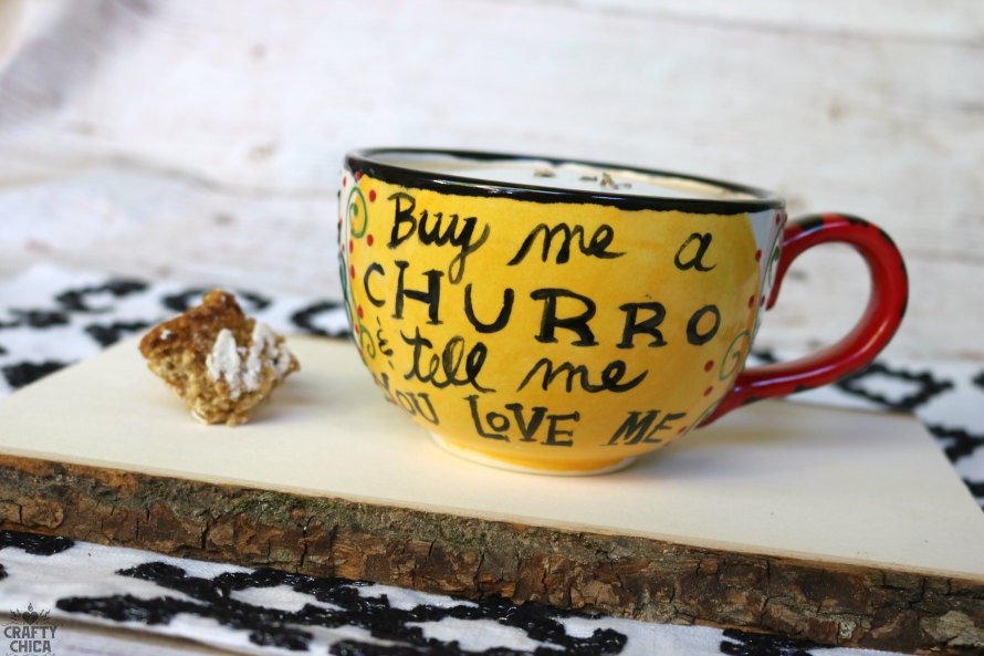 CHURRO Mug - Fired Cerami...