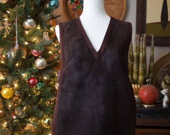 60's MOD Vintage Reversible Leather/Suede Vest