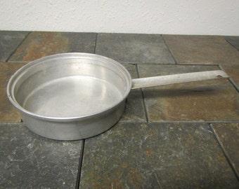 vintage  MIRRO Aluminum Pan #5123M , Sauce pan, fry pan, aluminum cookware , mid century