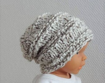 newborn slouchy Newborn sacking Hat - Baby Fall Hat - Baby slouchy Hat  Photo Prop Hat - Newborn Knit Hat - slouch hat - Slouchy Baby Beanie
