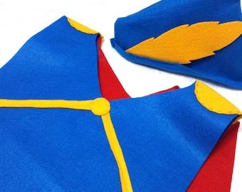 Kids Snow White's Prince Charming Costume Set