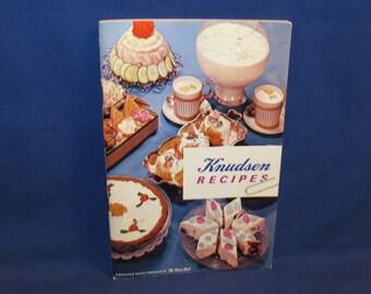 KNUDSEN RECIPES COOKBOOK 1962 Small California Creamery Cook Book