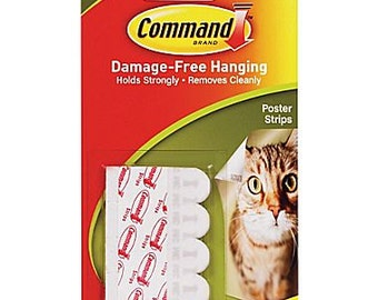 Command Strips Add-On for Nursery Letters