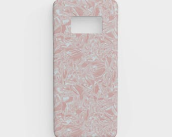 Foiled Pink Metallic Galaxy S8 Phone Case