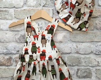 Cotton romper, baby romper, baby clothes, dungarees, baby gift, baby outfit, baby shower gift, kids clothes, toddler outfit