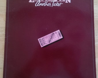 Eric Clapton - Another Ticket - RX-1-3095 - 1981 - First US Pressing - 118 gram - VG+